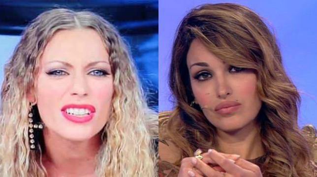 Live – Non è la D'Urso, Rosa Perrotta e Karina Cascella: resa dei conti in ascensore