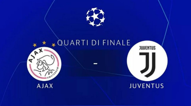 Ajax – Juve: dove vedere in Tv e Streaming la partita di Champions League