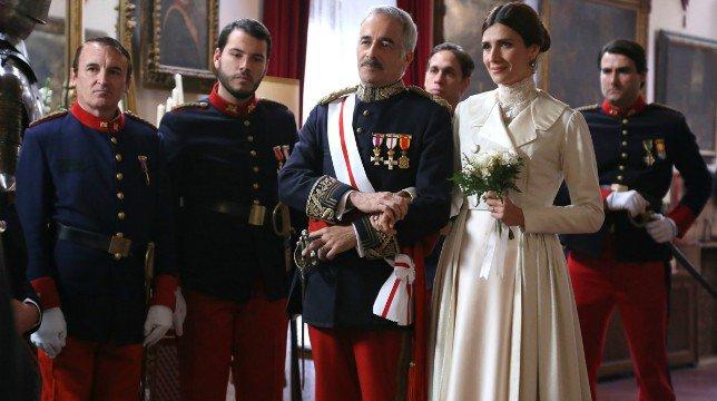 Una Vita Anticipazioni Spagnole: Silvia Reyes convola a nozze con il Generale Zavala