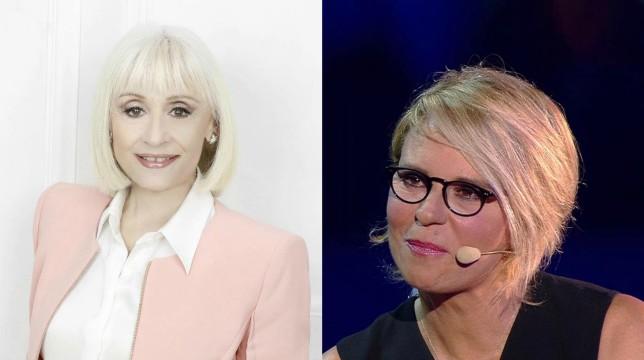 A Raccontare comincia Tu, quarta puntata: Raffaella Carrà intervista Maria De Filippi