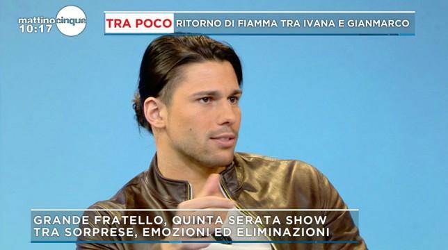 Grande Fratello: Luca Onestini commenta il confronto tra Gianmarco e Ivana Icardi