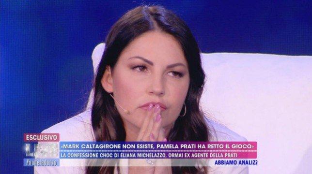 Live – Non è la D'Urso: le scioccanti dichiarazioni di Eliana Michelazzo, video