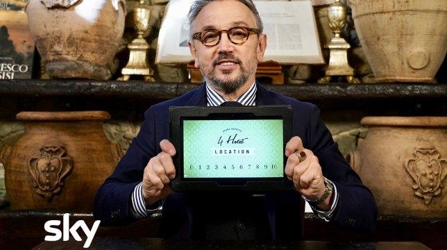4 Hotel: stasera su Sky Uno con lo chef Bruno Barbieri