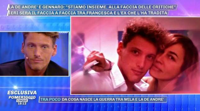 Grande Fratello: Gennaro Lillio replica alle accuse dell'ex Lory Del Santo