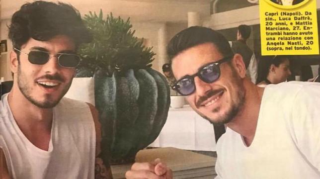 Uomini e Donne, Luca Daffrè e Mattia Marciano parlano di Angela Nasti