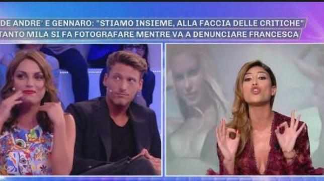 """Grande Fratello, Mila Suarez velenosa su Francesca De Andrè e Gennaro Lillio: """"La coppia più brutta"""""""