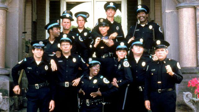 Scuola di polizia: il film stasera su Italia 2
