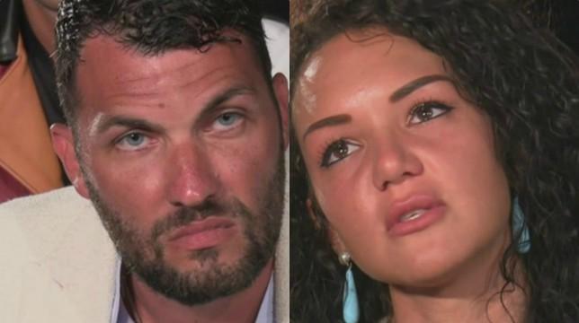 Temptation Island: il secondo falò di confronto tra Andrea e Jessica