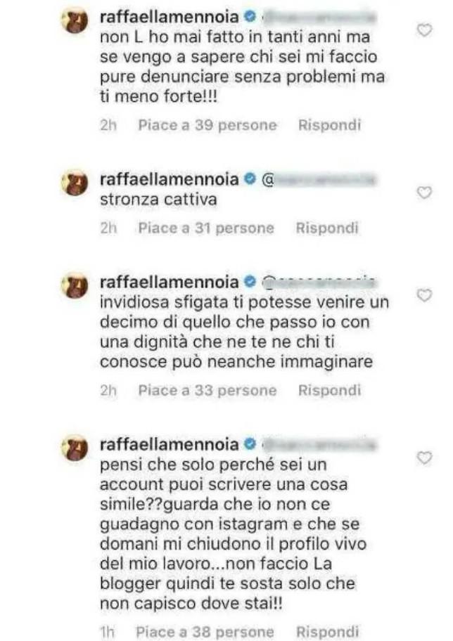 """Galleria foto - Uomini e Donne, Raffaella Mennoia sbotta: """"Stro**a cattiva! Ti meno forte e mi faccio denunciare"""" Foto 1"""
