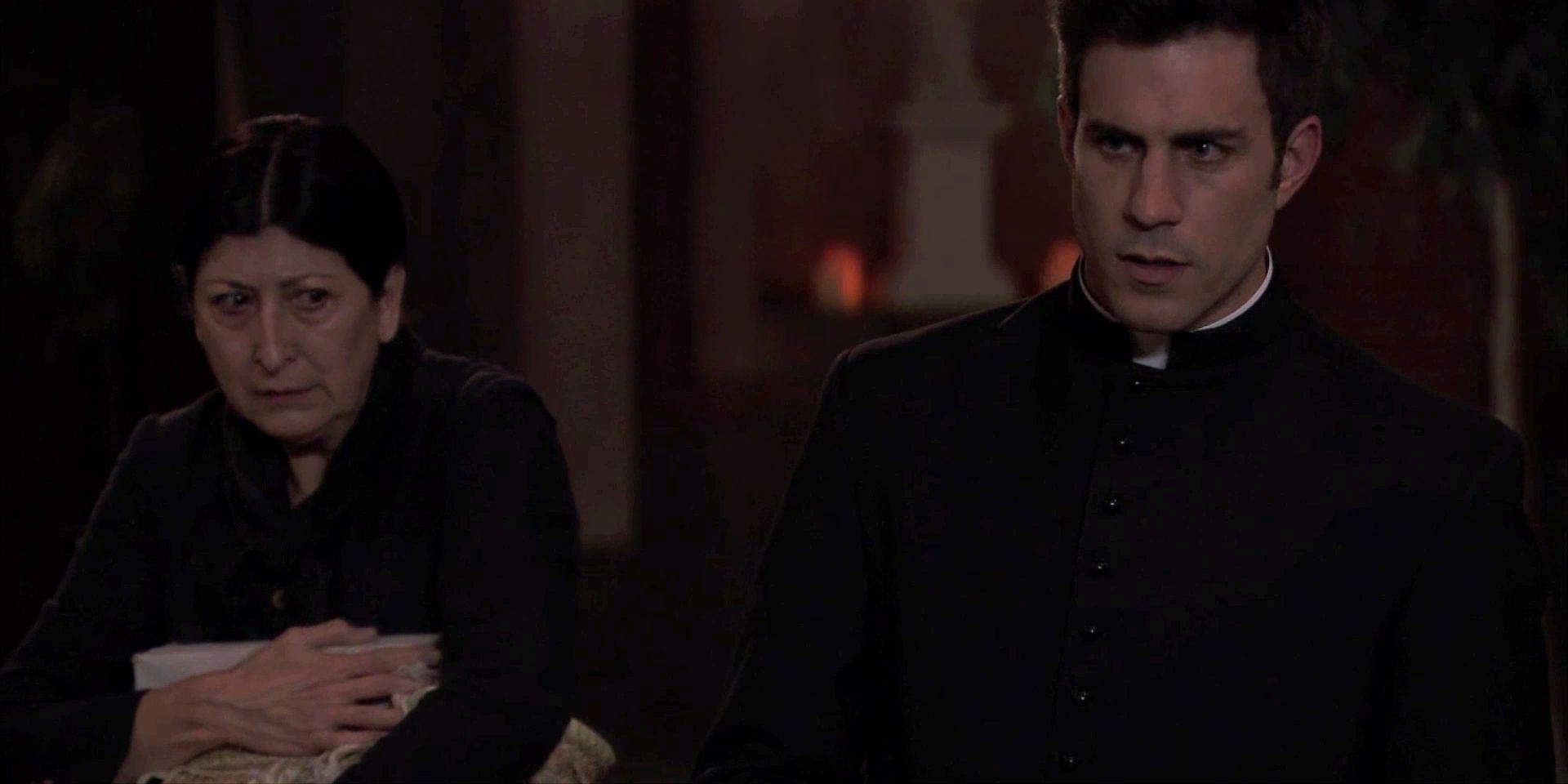 Una Vita Anticipazioni Spagnole: Padre Telmo prende con sé Ursula