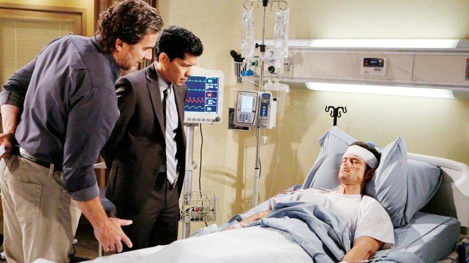 Galleria foto - Beautiful Anticipazioni Americane: Thomas si sveglia dal coma e inizia l'interrogatorio con Sanchez. Cosa gli dirà? Foto 1