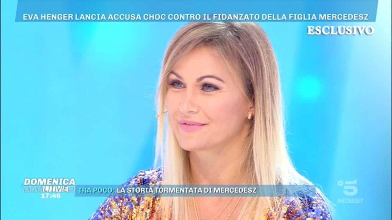 """Le scioccanti rivelazioni di Eva Henger a Domenica Live: """"Salvate mia figlia da Lucas"""""""