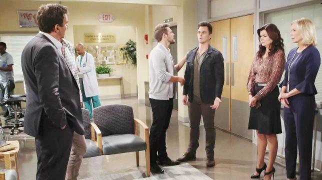 Beautiful Anticipazioni del 25 settembre 2019: Bill finisce in coma e Liam e Wyatt accusano Ridge