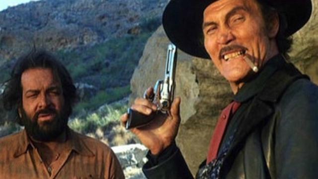Si può fare… amigo: il western con Bud Spencer e Jack Palance stasera su Iris
