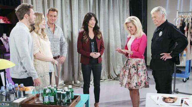Beautiful Anticipazioni del 20 settembre 2019: tutti sono felici per Charlie e Pam, ma il bacio tra Bill e Brooke…