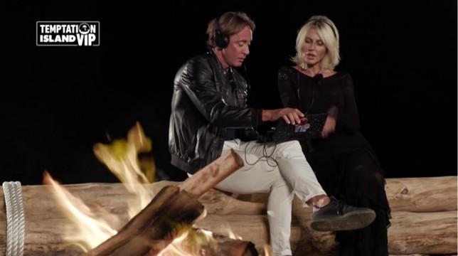 Temptation Island Vip, terza puntata: volano insulti tra Nathaly e Andrea, l'ira di Anna