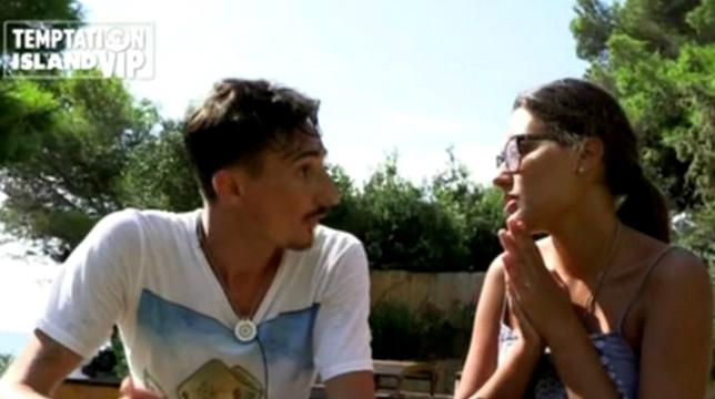 Temptation Island Vip, prima puntata: Ciro Petrone e Federica Caputo eliminati dal reality