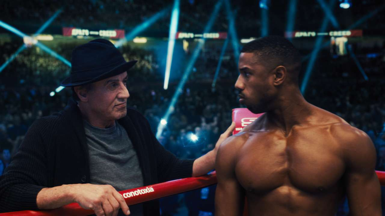 Creed con Sylvester Stallone e Michael B. Jordan in onda stasera su TV8