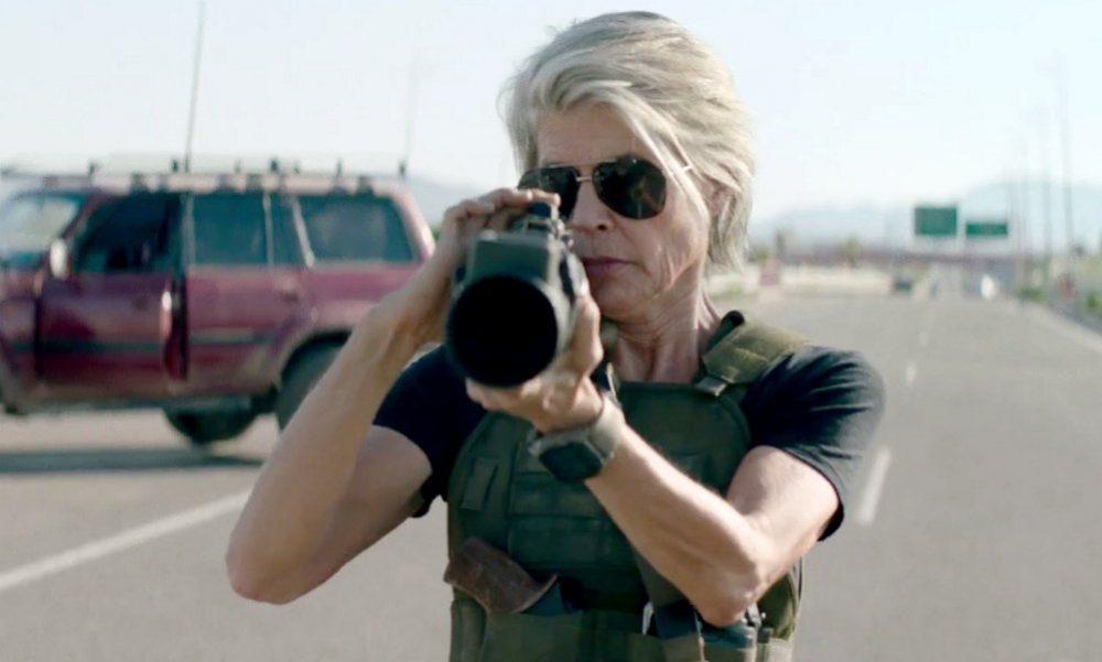 Terminator: Destino Oscuro, Linda Hamilton torna come Sarah Connor