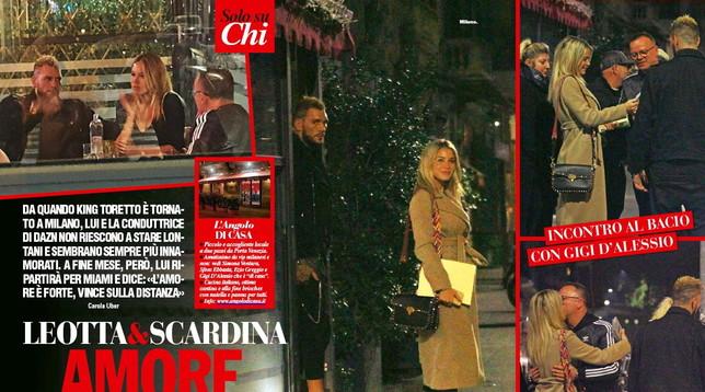 Galleria foto - Diletta Leotta e Gigi D'Alessio, il bacio che scatena il gossip Foto 1