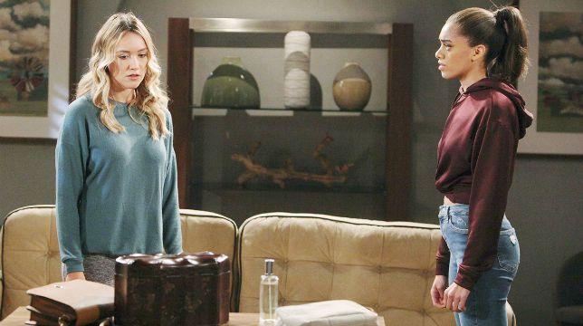 Beautiful Anticipazioni del 31 gennaio 2020: è scontro tra Zoe e Flo a casa di Reese