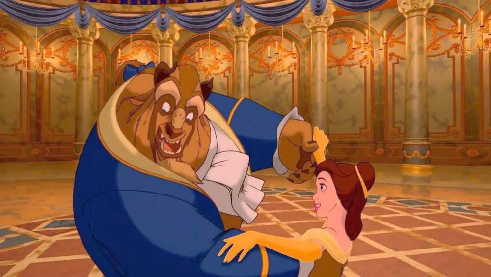 La bella e la bestia: il classico animato Disney stasera su Rai 1