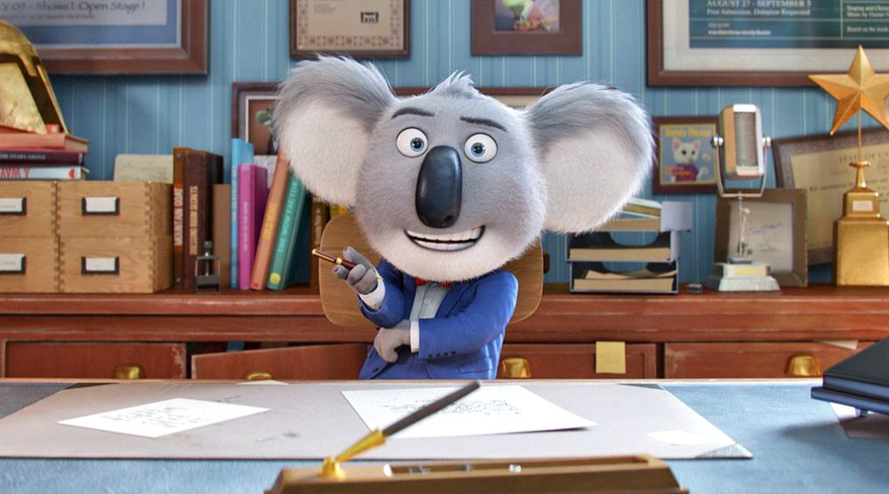 Sing: il divertente film di animazione stasera su Italia 1