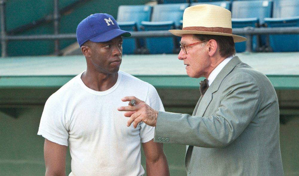 42: il film con Harrison Ford e Chadwick Boseman stasera su Iris
