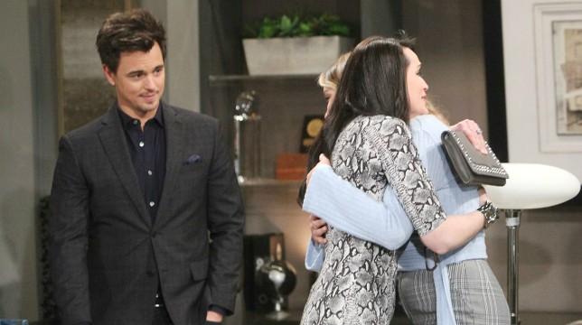 Galleria foto - Beautiful Anticipazioni del 27 marzo 2020: Quinn vuole che Wyatt lasci Sally per Flo Foto 1