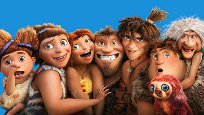Galleria foto - I Croods: il film di animazione DreamWorks stasera su Italia 1 Foto 1