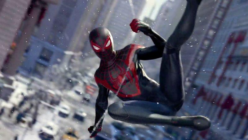 Galleria foto - Miles Morales torna in uno Spider-Man tutto per la Playstation 5 a Natale Foto 1
